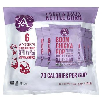 Angie's Sweet and Salty Kettle Corn - 6 oz (Pack... : Target