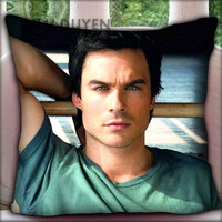 Ian Somerhalder - Pillow Cover Pillow Case and Decorated Pillow.