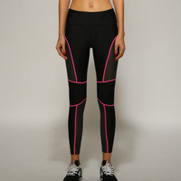 See-Through Mesh Sexy Sport Suit Fitness Sportswear Stretch Exercise Yoga  Erotic Trousers Pants Leggings _ 2160