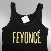 FEYONCE Tank. Bride Tank Top. Feyonce Shirt. Bachelorette Party Tank Top. Engaged Shirt. BRIDE. Feyonce. Engaged Gift.
