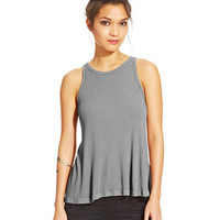 Free People Long Beach Ribbed Tank Top | macys.com