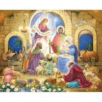 Glorious Nativity Jigsaw Puzzle - Puzzle Haven