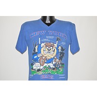 90s New York Giants Tasmanian Devil Youth Large