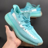 adidas Yeezy Boost 350 V2 Ice Blue Running Shoes