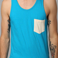 Urban Outfitters - BDG Speckled Contrast-Pocket Tank Top
