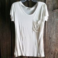 MAKE A STATEMENT TEE IN WHITE