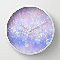 Leave a Little Sparkle (Dream Dust) Wall Clock