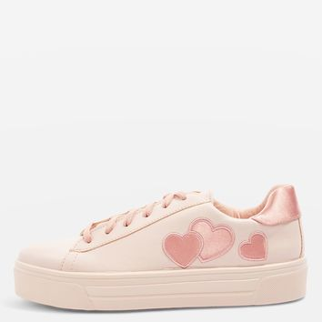 CANDY Heart Flatforms | Topshop