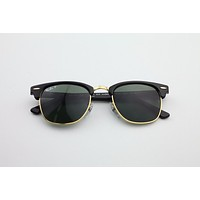 Brand New Authentic RayBan 3016 Clubmaster Black 901/58 49 21 140