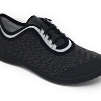 DCCKAB3 Clarks Cloudsteppers Dowling Pearl Black Synthetic Lace-Up Shoes