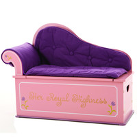 Levels of Discovery Princess Fainting Couch w/ Storage - LOD20053