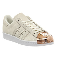 Adidas Superstar 80's Metal Toe W Off White Rose Gold - Hers trainers