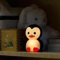 Onaroo Danny The Penguin Portable Night Light with Rainbow Color Change