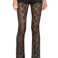 Bam Bam Bells in Lava Lace Black