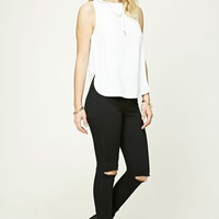 Contemporary High-Low Top