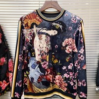 DG autumn and winter new men and women sweater  trend couple models print Sweater