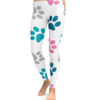 Big Paw Print Leggings