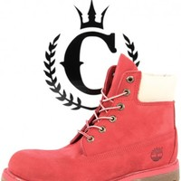 Timberland Womens Boots Coral