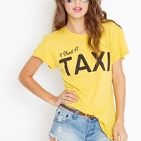 I Need A Taxi Tee in Sale at Nasty Gal