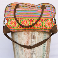 Vintage Oversized Weekender Ethnic Bag