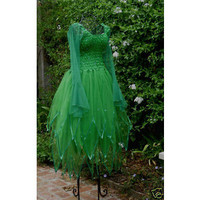 New Adult Green Chirstmas PLUS SIZE Fairy Dress St. Patricks Day Costume