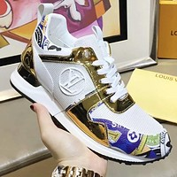 Wearwinds Louis Vuitton LV Newest Popular Woman Stylish Personality Sport Shoes Sneakers