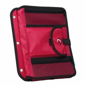 Case It ACC-21 5-TAB Expanding File, Red | Staples