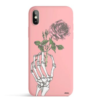 Crane Rose - Colored Candy Cases Matte TPU iPhone Cover