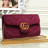 Perfect Gucci Women Fashion Leather Shoulder Bag Crossbody