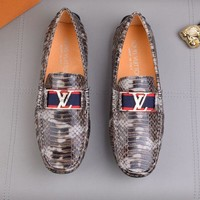 DCCK LV  Fashion Men Casual Running Sport Shoes Sneakers Slipper Sandals