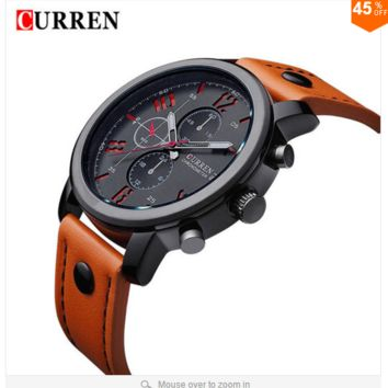 2016 CURREN Luxury Casual Men Watches