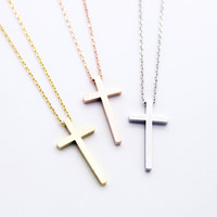 Cross necklace (3 colors)