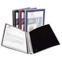 """Avery 1"""" Assorted Color Flexi-View Binders (17688)"""