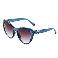 LV Louis Vuitton Fashion New Female Travel Leisure Glasses Eyeglasses
