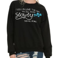 The Fault In Our Stars Slowly Girls Pullover Top