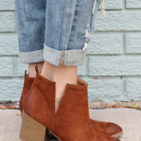 Inferno Booties - Camel