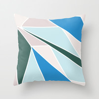 Ocean Colors Throw Pillow by Ashley Hillman
