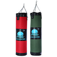 100cm Boxing Sandbags Striking Drop Hollow Empty Sand Bag with Chain Martial Art Training Punch Target