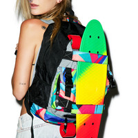 PENNY Slater Penny Board with Backpack RAINBOW One