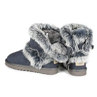 Tagre™ UGG Fashion Women Fur Wool Snow Boots Shoes