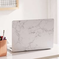 White Marble MacBook Pro Retina Laptop Skin | Urban Outfitters