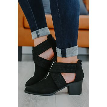 Samantha Booties - Black