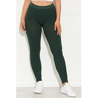 Ultra Chic Leggings Green