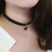 Womens Retro Crystal Choker Necklace + Gift Box 05