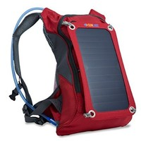 Sunlabz Solar Power Charger (7w) Backpack with 1.8L Hydration Pack - Ergonomic Back Pack with Solar Panel Portable Charger for Tablets, Cell Phones, iPad, iPhone, Samsung & Electronic Gadgets
