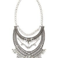 Leith Oversize Crystal Drop Statement Necklace | Nordstrom