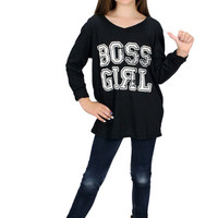 Dirtee Hollywood Boss Girl Tee | Mod Angel