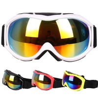 Outdoor Sport Snowboard Goggles Ski Goggles with Anti-fog UV Protection for Men Women Snowmobile Skiing Eyewear
