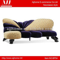 stylish sitting room indoor furniture blue couch BP54, View indoor wood frame couches, AJJ Product Details from Zhongshan Ajjhome E-Commerce Co., Ltd. on Alibaba.com