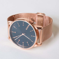Komono Royale Series Watch Rose Gold Black